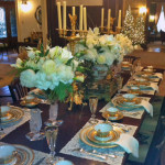 Alexander Mansion Dining Room set for Tea