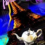 Dallas Woman's Forum Parisian Tea Room Artwork-Small File
