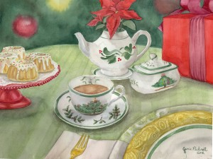 Holiday Tea at the Alexander Mansion