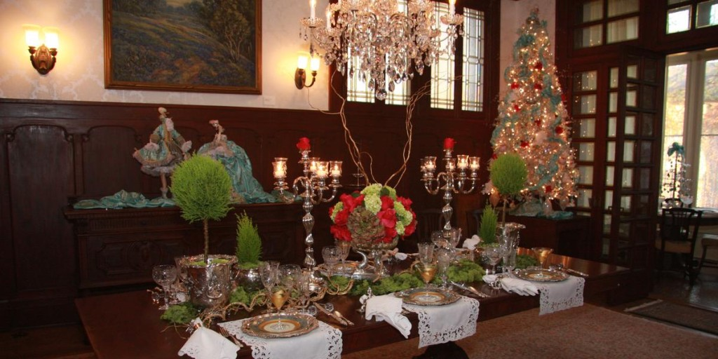 Alexander Mansion Dining Room Holiday Tea