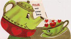 Valentine Tea Card