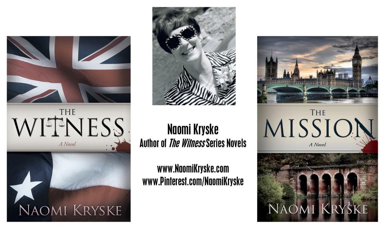 Naomi Kryske author of The Witness