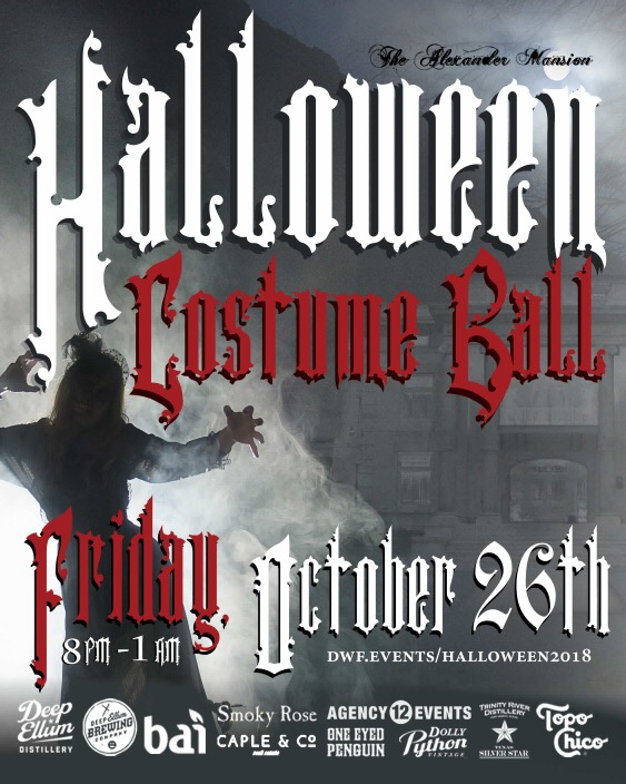 Alexander Mansion's Halloween Costume Ball