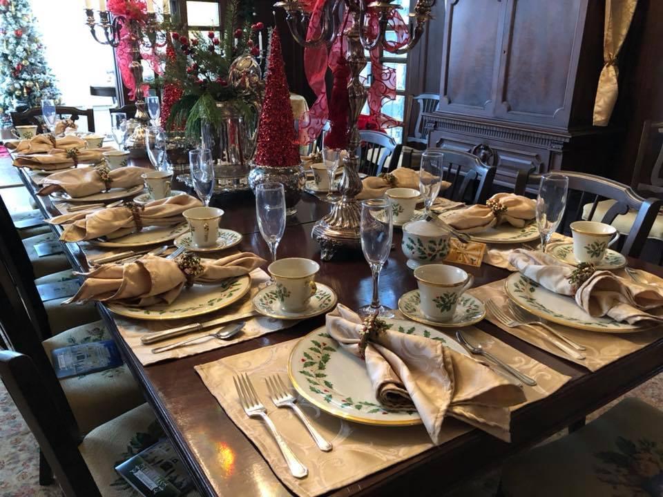 European Tea Room dining room Alexander Mansion Dallas