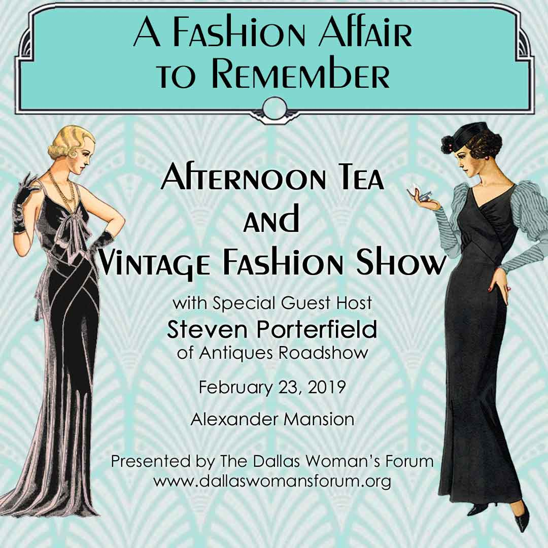 Tea and Fashion Show