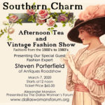 Southern Charm Tea and Vintage Fashion Show