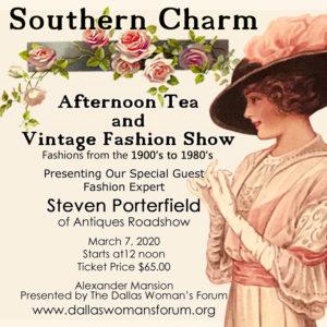Southern Charm Tea and Vintage Fashion Show