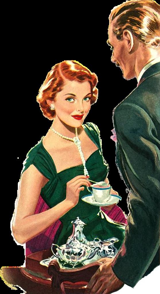 Vintage Tea Lady