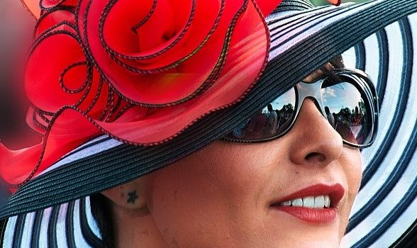 Kentucky Derby hat square