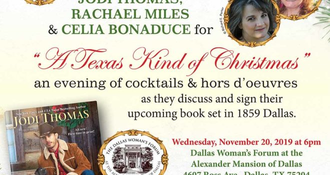 A Texas Kind of Christmas Cocktail Event