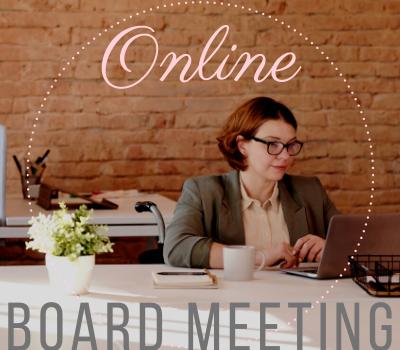 Board Meeting online