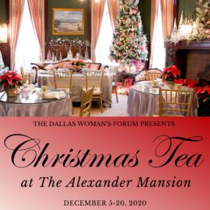 2020 Christmas Tea