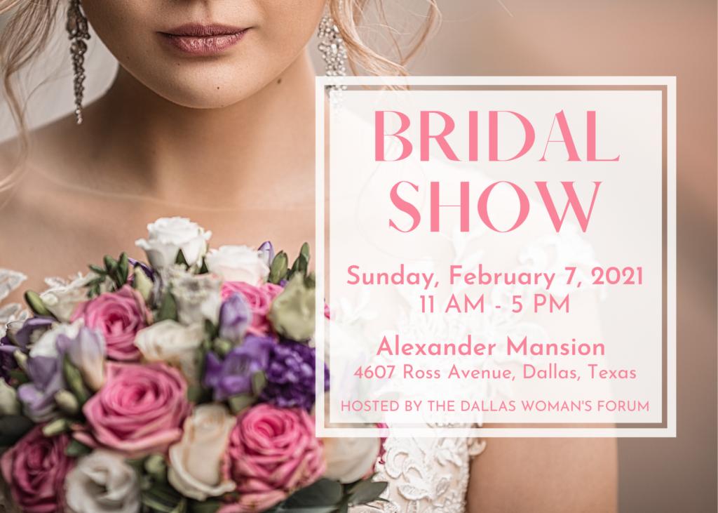 Bridal Show Feb 7 Alexander Mansion